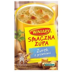 13g smaczna zupa żurek z grzankami od producenta Winiary