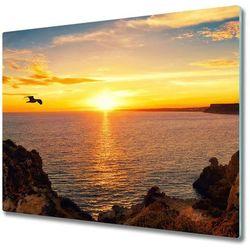 Deska do krojenia Zachód słońca morze