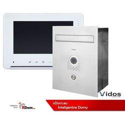 Vidos Zestaw s551-skp skrzynka na listy z wideodomofonem, monitor 7'' wideodomofonu m690ws2