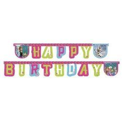 Procos Baner urodzinowy happy birthday frozen - kraina lodu - 215 cm - 1 szt.