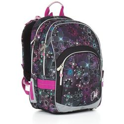 Plecak szkolny  chi 874 a - black wyprodukowany przez Topgal