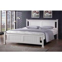 Meblemwm Łóżko drewniane białe 140x200 model 1103