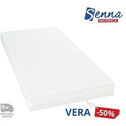 vera - materac kieszeniowy, sprężynowy, rozmiar - 90x200 wyprzedaż, wysyłka gratis marki Senna