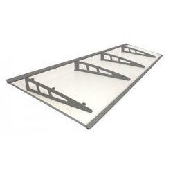 Metal-gum Daszek zadaszenie proste drzwi 270 x 100