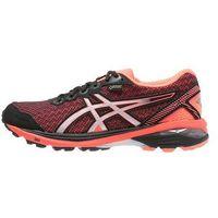 ASICS GT1000 5 GTX Obuwie do biegania Stabilność black/silver/flash coral (buty do biegania)