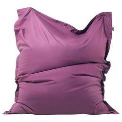 Pufa do siedzenia z powłoczką wewnętrzną 140 x 180 cm purpurowa marki Beliani
