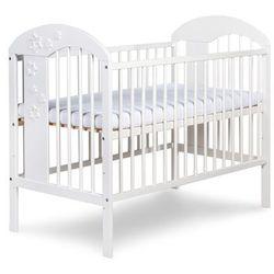 Klupś, łóżeczko niemowlęce Radek VII, białe
