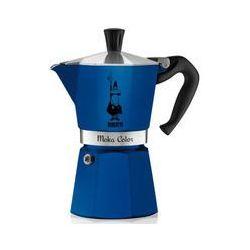 Bialetti kawiarka Moka Colour 6 tz niebieska - sprawdź w wybranym sklepie