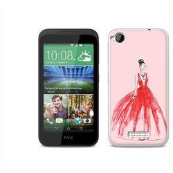 Fantastic case - htc desire 320 - etui na telefon fantastic case - czerwona suknia wyprodukowany przez Etuo.pl