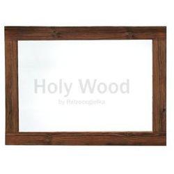 Lustro ze starego drewna, naturalne, duża, szeroka rama marki Holy wood