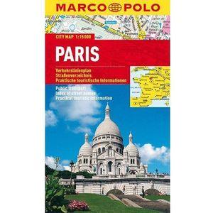 Paryż 1:15 000. Foliowany plan miasta. Marco Polo (9783829730716)