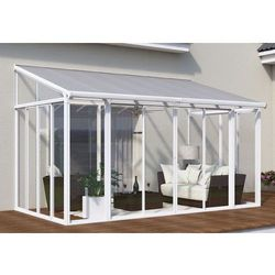 Palram Ogrody zimowe veranda sanremo 3 x 5,4 m biała