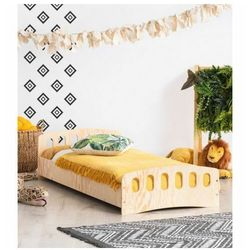 Drewniane łóżko dziecięce ze stelażem - Mailo 11X