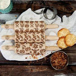 Scary - zestaw 3 mini wałki do ciasta - scary - zestaw marki Mygiftdna