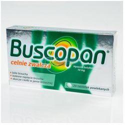 Buscopan 10mg 20tbl (artykuł z kategorii Leki na wzdęcia)