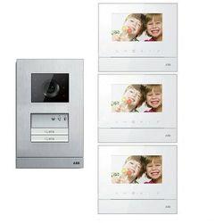 ABB Zestaw wideo 3-rodzinny ABB WELCOME BASIC GN2877 - Rabaty za ilości. Szybka wysyłka. Profesjonalna pomoc techniczna., GN2877
