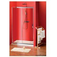 SIGMA drzwi prysznicowe do wnęki 100cm szkło matowe BRICK SG3260
