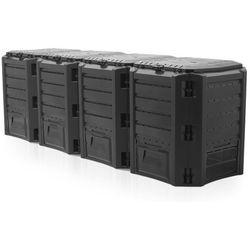 Prosperplast Kompostownik segmentowy module compogreen 1600l czarny