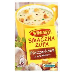 14g smaczna zupa pieczarkowa z grzankami, marki Winiary