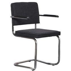 Zuiver  fotel ridge kink vintage czarny 1200075