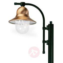 K. s. verlichting 1-punktowa latarnia toscane 240 cm, zielona