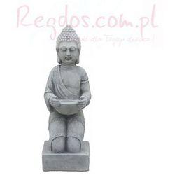 Figura ogrodowa betonowa figura buddyjska 43cm