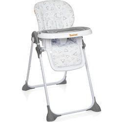 Baninni wysokie krzesełko składane olvio, szare, bndt007-gy (5420038785468)
