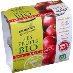 Przecier z Jabłek Bez Cukru 4x100g Destination - BIO EKO - sprawdź w wybranym sklepie