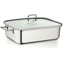 Kela naczynie do pieczenia z pokrywką i wkładką parową ivo 5,8 l