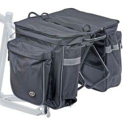 15-000009 Sakwa na bagażnik AUTHOR CARGO 40 czarna z pokrowcem - sprawdź w wybranym sklepie