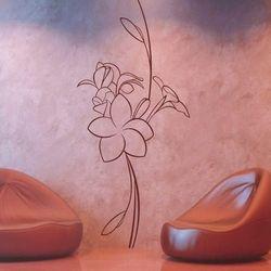 Kwiaty 991 szablon malarski marki Deco-strefa – dekoracje w dobrym stylu