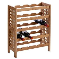 Zeller Bambusowy stojak na wino - 20 butelek,
