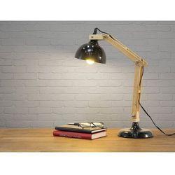 Beliani Nowoczesna lampka nocna w kolorze czarnym - lampa stojąca - salado (7081453582018)