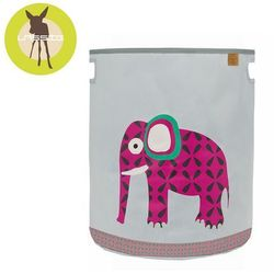 Lassig, Wildlife Słoń, pojemnik kosz na zabawki, towar z kategorii: Dekoracje i ozdoby dla dzieci