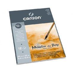 moulin du roy® papier akwarelowy 30x40/12 torchon wyprodukowany przez Canson