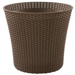 Keter Doniczka conic planter 56,5 l mokka + zamów z dostawą jutro! + darmowy transport! (7290106934672)