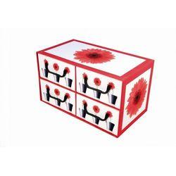 Pudełko kartonowe 4 szuflady poziome DONICZKI-GERBERY - sprawdź w kamai24.pl