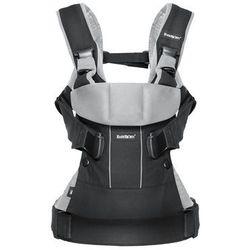 BABYBJORN ONE - nosidełko ergonomiczne, czarny/srebrny (7317680930651)