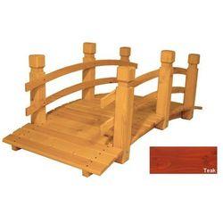 Mostek drewniany ogrodowy - TEAK - 149 cm