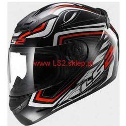 KASK MOTOCYKLOWY KASK LS2 FF352 ROOKIE RANGER BLACK RED (kask motocyklowy)