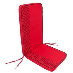 Hobbygarden Poduszka rio - czerwony z paskami - 113x47 cm (5902414506787)
