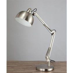 Lampa biurkowa srebrna rigorria marki Lumina deco