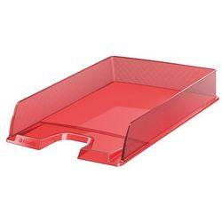 Półka na dokumenty Esselte Europost 623601 przezroczysty-czerwony - produkt z kategorii- Półki na dokument
