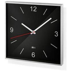 Zegar ścienny Sillar czarny, kolor czarny