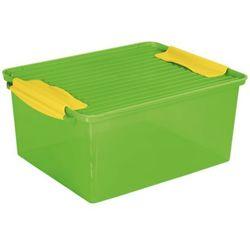 Branq Pojemnik system box 15 l. [zielony]