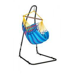 Zestaw hamakowy: fotel hamakowy Sonrisa ze stojakiem Mediterraneo, niebiesko-fioletowy SNC14MEA12, kup u jednego z partnerów