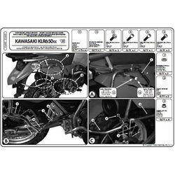 Kappa KL448 Stelaż Kufrów Bocznych Kawasaki Klr 650 Enduro (07 > 09) - produkt dostępny w StrefaMotocykli.com