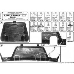 Kappa KR1150 STELAŻ KUFRA CENTRALNEGO SUZUKI AN 250-400 Burgman (03 > 06) (stelaż motocyklowy)