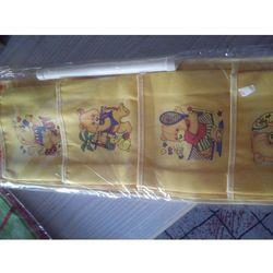 WISZĄCE KIESZONKI ORGANIZER na zabawki żółte