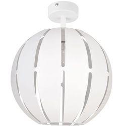 Globus prosty 1 plafon L biały 31308 SIGMA